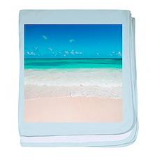 beautiful beach baby blanket