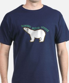 Global Warming T-Shirt. Become Carbon Neutral