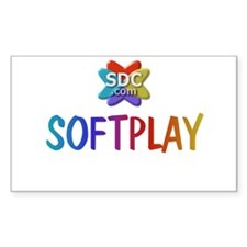 SOFTPLAY Products Rectangle Decal