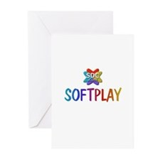 SOFTPLAY Products Greeting Cards (Pk of 10)