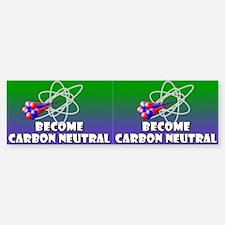 Carbon Neutral Bumper Bumper Bumper Sticker