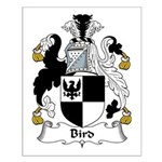 Bird Family Crest Small Poster