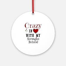 Norwegian Buhund Ornament (Round)