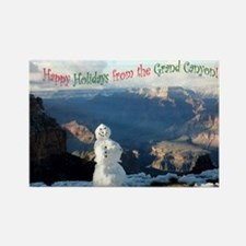 Holiday Greeting Rectangle Magnet