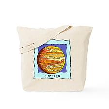 Planet Jupiter Tote Bag