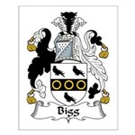 Bigg Family Crest Small Poster