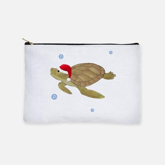 Santa - Turtle Makeup Pouch
