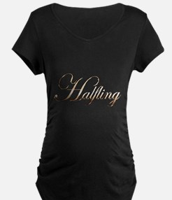 Gold Halfling Maternity T-Shirt