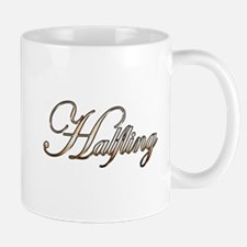 Gold Halfling Mugs
