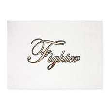 Gold Fighter 5'x7'Area Rug