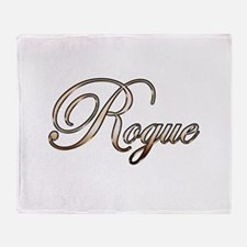 Gold Rogue Throw Blanket