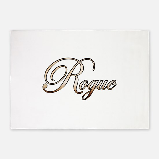 Gold Rogue 5'x7'Area Rug