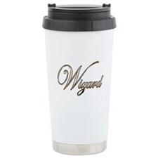 Gold Wizard Travel Mug