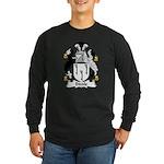 Biddle Family Crest Long Sleeve Dark T-Shirt