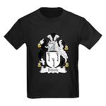 Biddle Family Crest Kids Dark T-Shirt