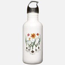 Vintage Tulips by Basi Sports Water Bottle