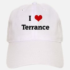 I Love Terrance Baseball Baseball Cap