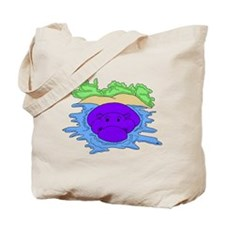 Water Hippo Tote Bag