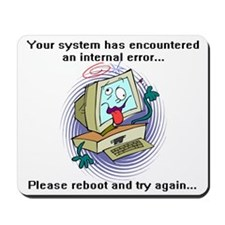 System Error Mousepad