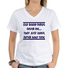 Old Band Nerds Never Die Shirt