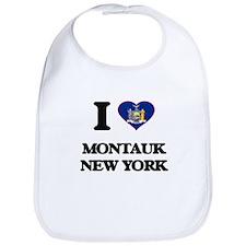 I love Montauk New York Bib