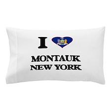 I love Montauk New York Pillow Case