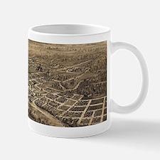 Vintage Pictorial Map of Salem Oregon (1876) Mugs