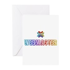 WEBMASTER Products Greeting Cards (Pk of 10)