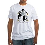 Bermingham Family Crest Fitted T-Shirt