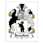 Beresford Family Crest  Small Poster