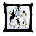 Beresford Family Crest  Throw Pillow
