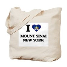 I love Mount Sinai New York Tote Bag