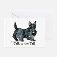 Scottish Terrier Attitude Greeting Card