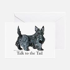 Scottish Terrier Attitude Greeting Cards (Pk of 20