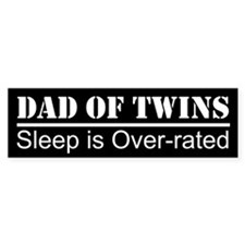 SLEEP IS OVER-RATED Bumper Bumper Sticker