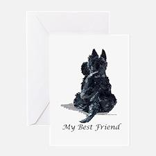 Scottish Terrier AKC Greeting Card