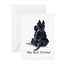 Scottish Terrier AKC Greeting Cards (Pk of 10)