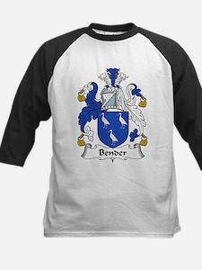 Bender Family Crest Kids Baseball Jersey