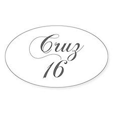 Cruz 16-Cho gray 300 Decal