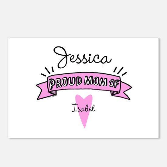 Proud Mom Of Daughter Postcards (Package of 8)