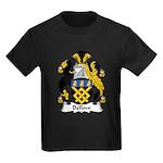 Bellow Family Crest Kids Dark T-Shirt