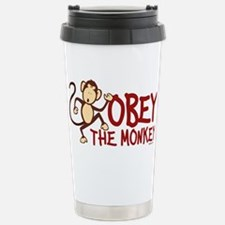 Monkey humor Travel Mug