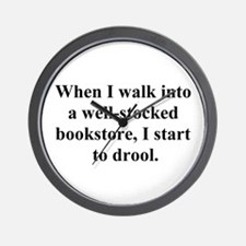 Drool Wall Clock