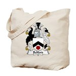 Belford Family Crest Tote Bag