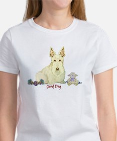 """Good Dog"" Wheaten Scottie Tee"
