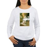 Dancer1/Wheaten T Women's Long Sleeve T-Shirt