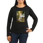 Dancer1/Wheaten T Women's Long Sleeve Dark T-Shirt