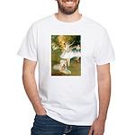 Dancer1/Wheaten T White T-Shirt
