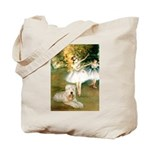 Dancer1/Wheaten T Tote Bag