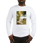 Dancer1/Wheaten T Long Sleeve T-Shirt